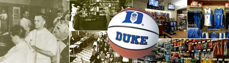 Duke University Stores About Us Header