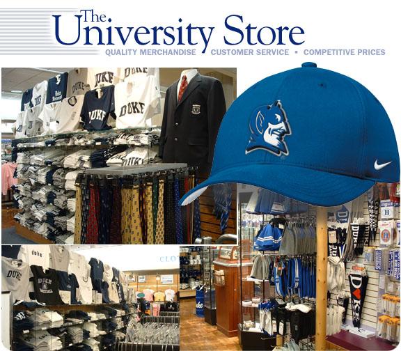 Duke university clothes store